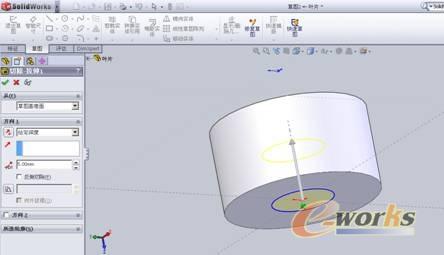 螺旋桨叶片三维模型设计及加工
