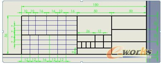 a4图纸边框标题栏尺寸