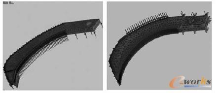 大跨空间网格结构 模型