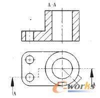 机械制图半剖视图_基于SolidWorks工程图中旋转局部剖视图的表达方法研究_SolidWorks