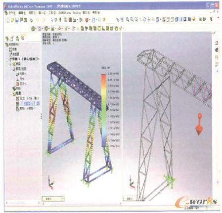 行焊接结构设计
