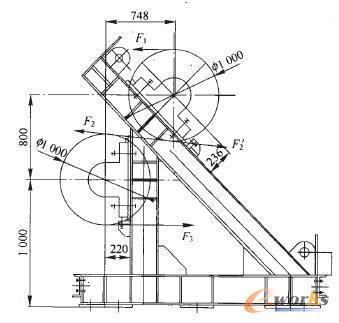 机传动机架的结构强度分析