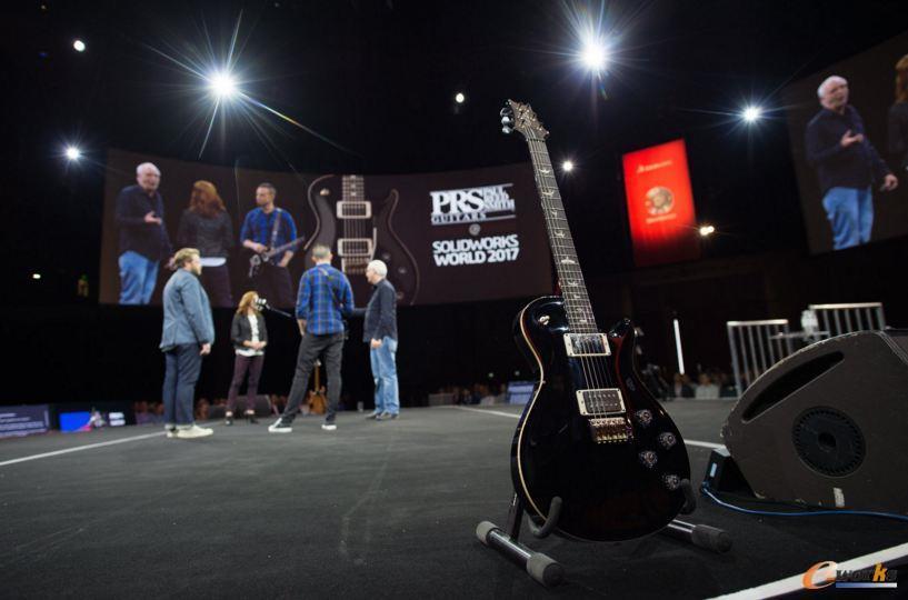 图3 SOLIDWORKS协作设计开发Mark Tremonti签名款吉他